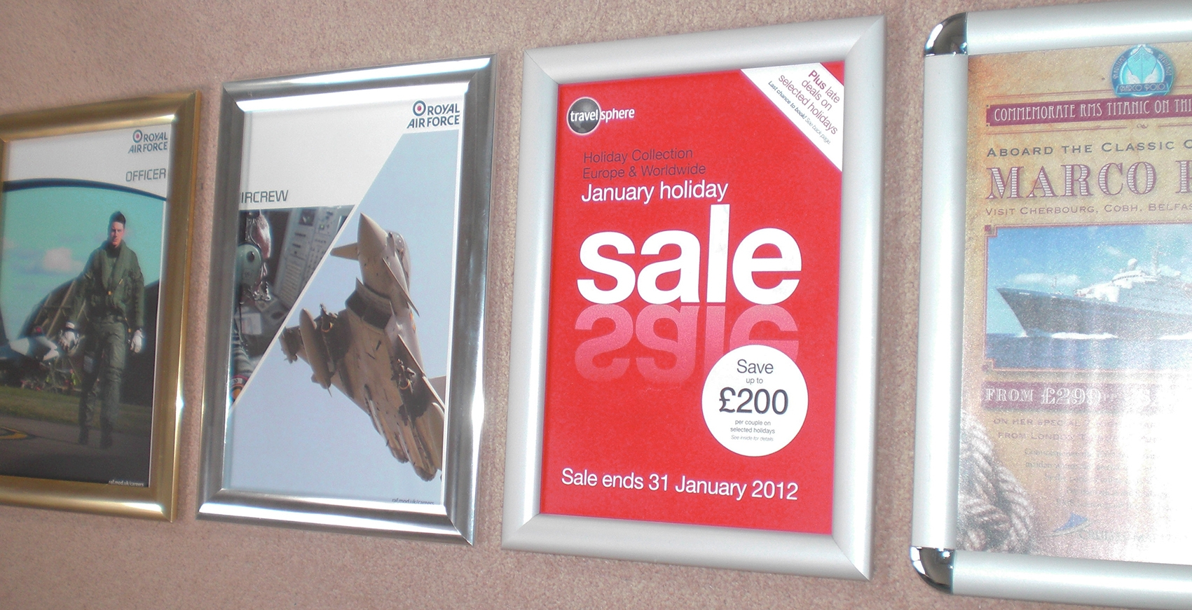 Snap Frames for Posters