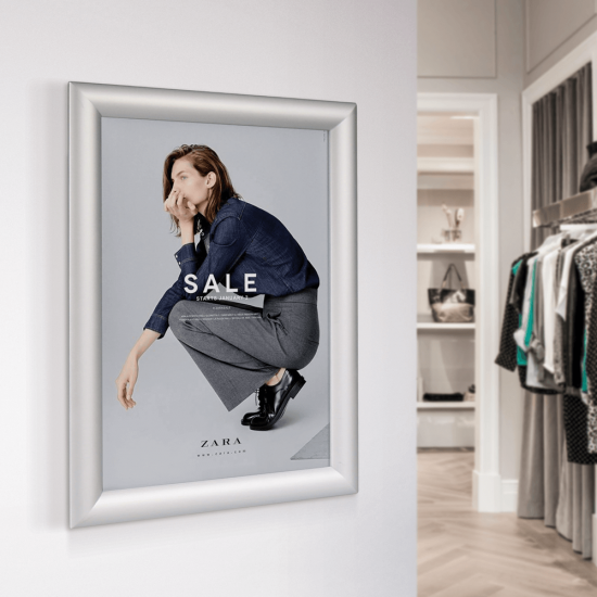 Retail Zara Poster Frame and Poster