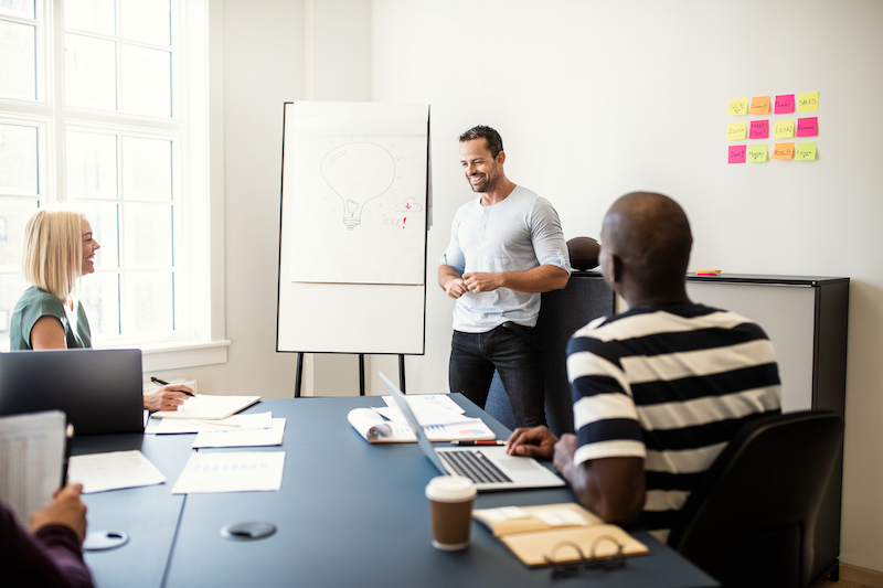 Presentation Tips that go beyond the Whiteboard Easel