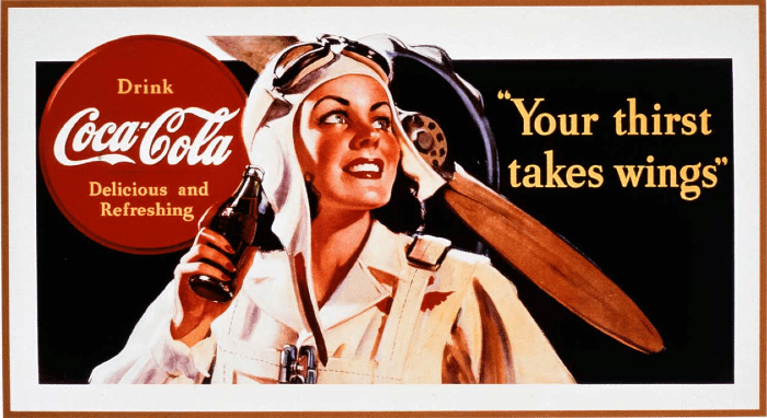 Coca Cola Poster from 1930's