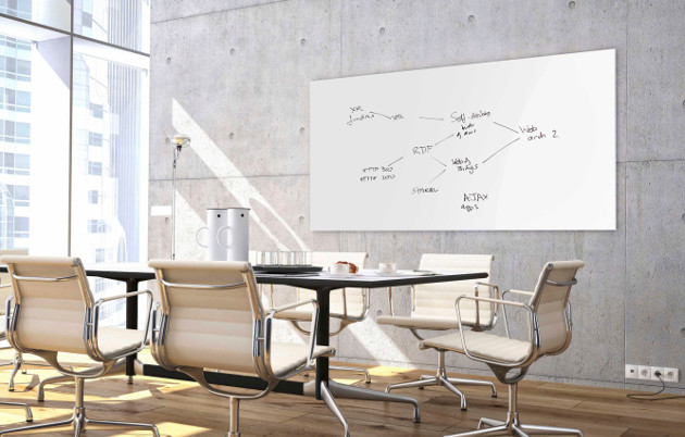 Boardroom Whiteboard Wall Mounted
