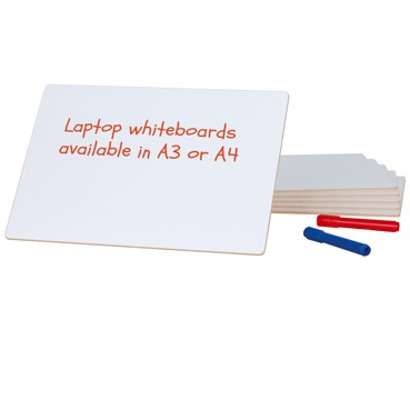 Handheld small laptop whiteboards