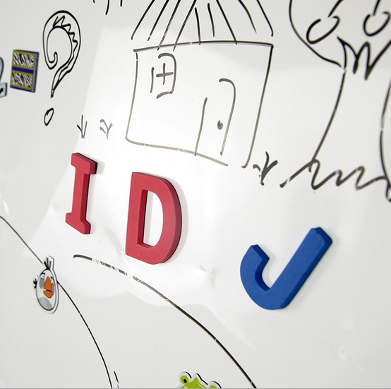 Creative Whiteboard for kids which include magnets