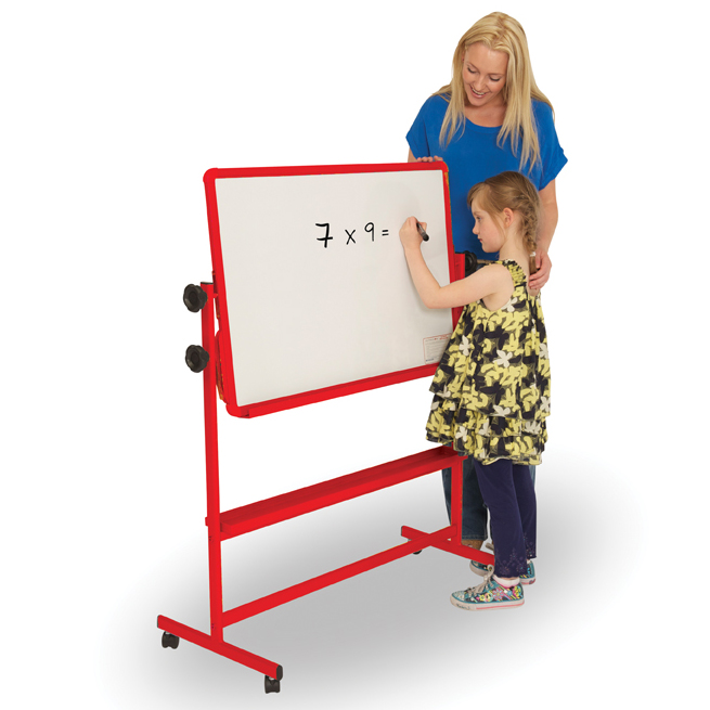 Mobile Tilt and Teach Whiteboard - Product Pic