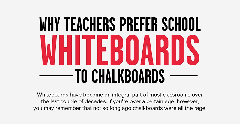 Why Teachers Prefer School Whiteboards to Chalkboards