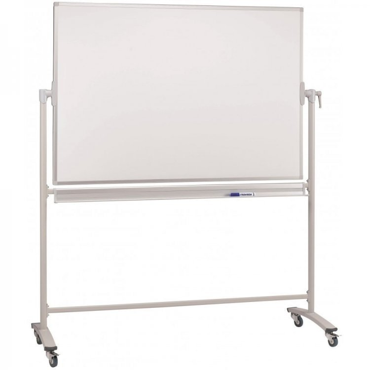 Mobile Whiteboard - Magnetic Whiteboard on Wheels