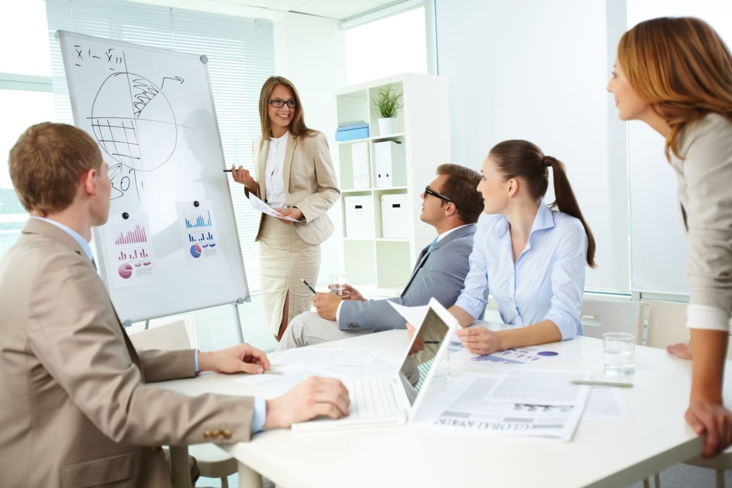 How Large Businesses Benefit from Using Mobile Whiteboards