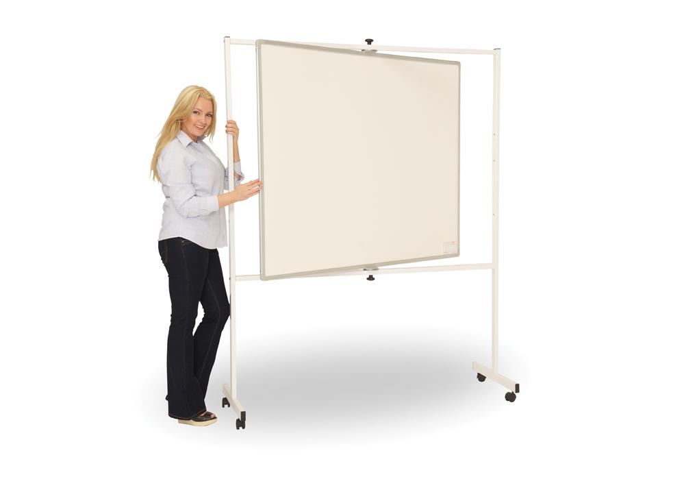 Pivot Revolving Mobile Whiteboard