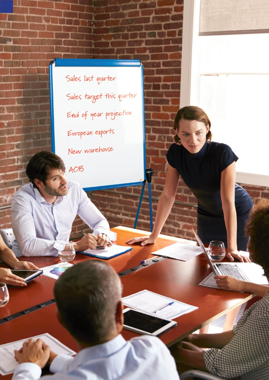 The advantages of using flip charts for presenting - blog pic