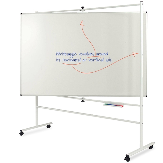 Write-Angle Revolving Whiteboard - Product Pic