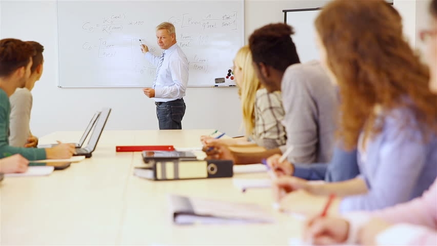 Magnetic Whiteboards in School for Mature Students