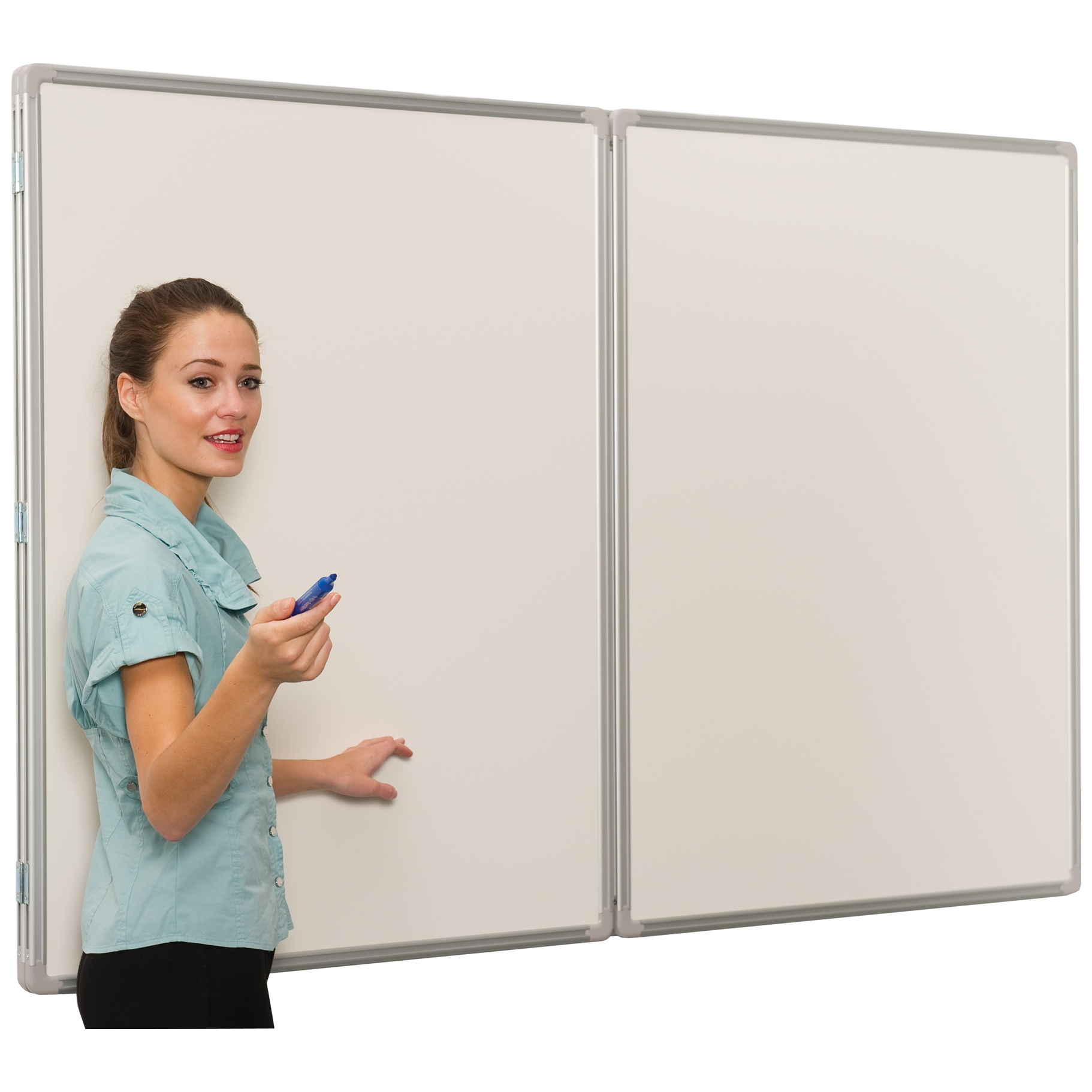 Space-Saver Whiteboard for Teachers