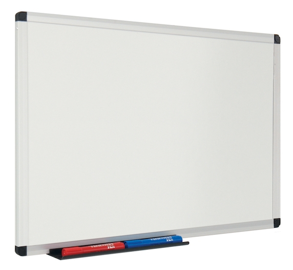 Example picture of our most popular ultra smooth magnetic whiteboard