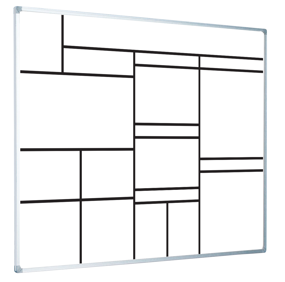 How to create lines on a whiteboard