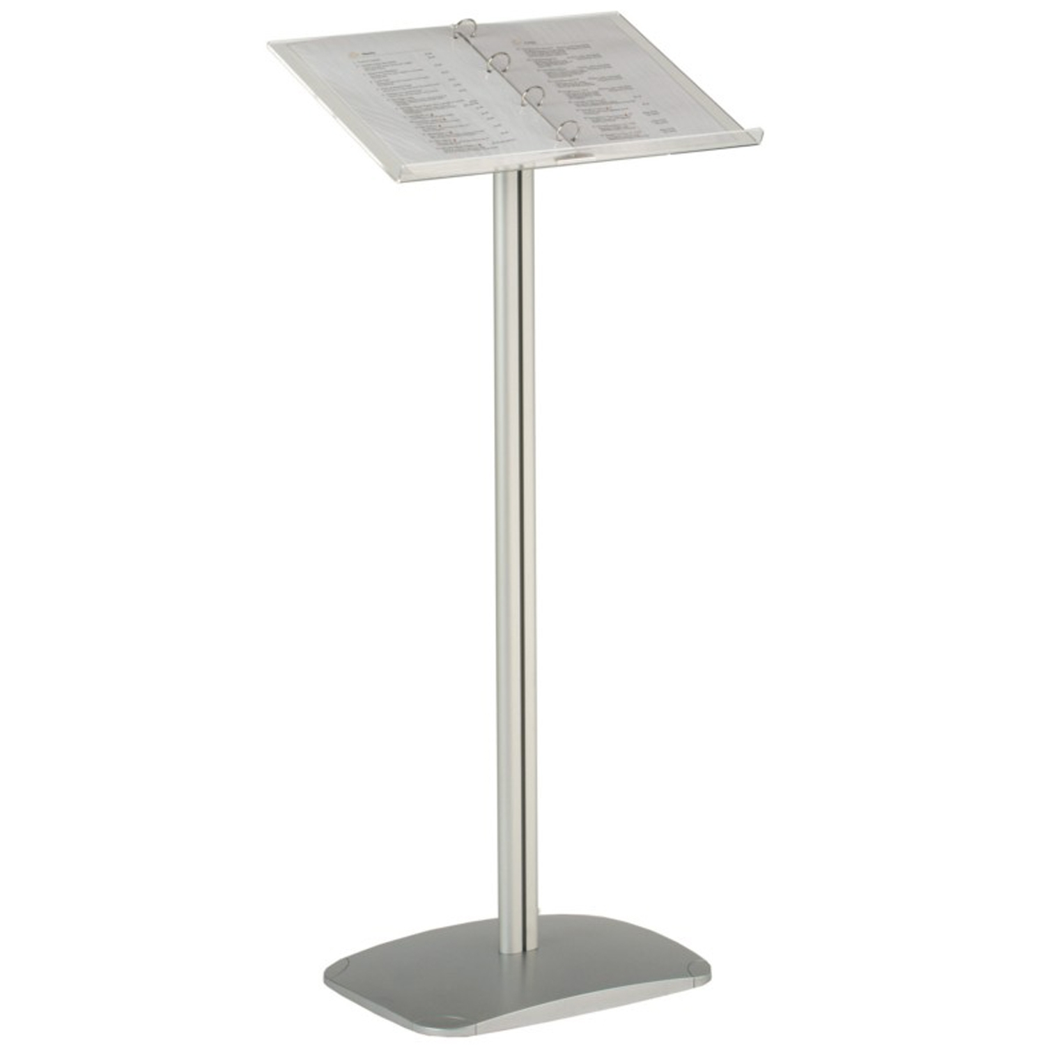 Acrylic Top Information Stand