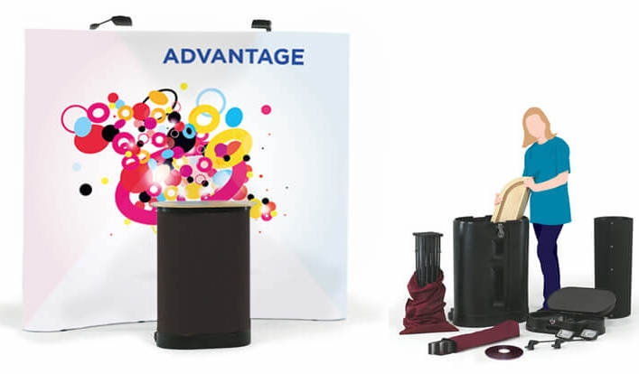 Space Saving Trade-show Display Stands