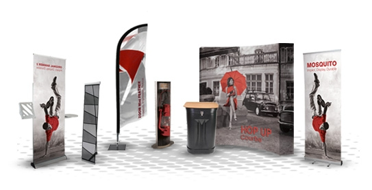Banner Stands and Pop-Ups