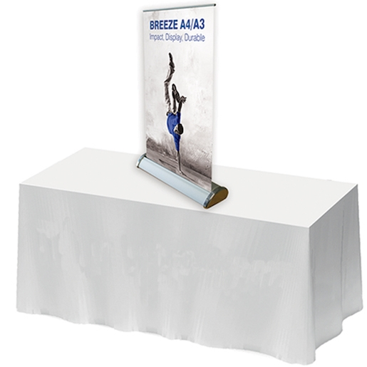 Desktop Banner Stands