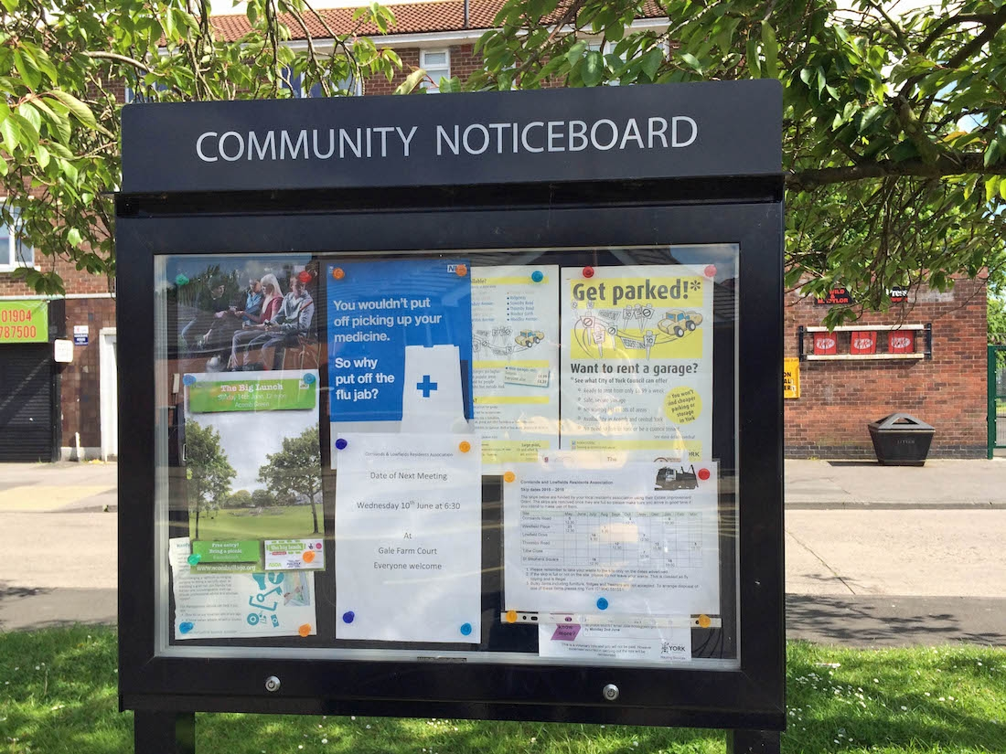 Community Notice Boards