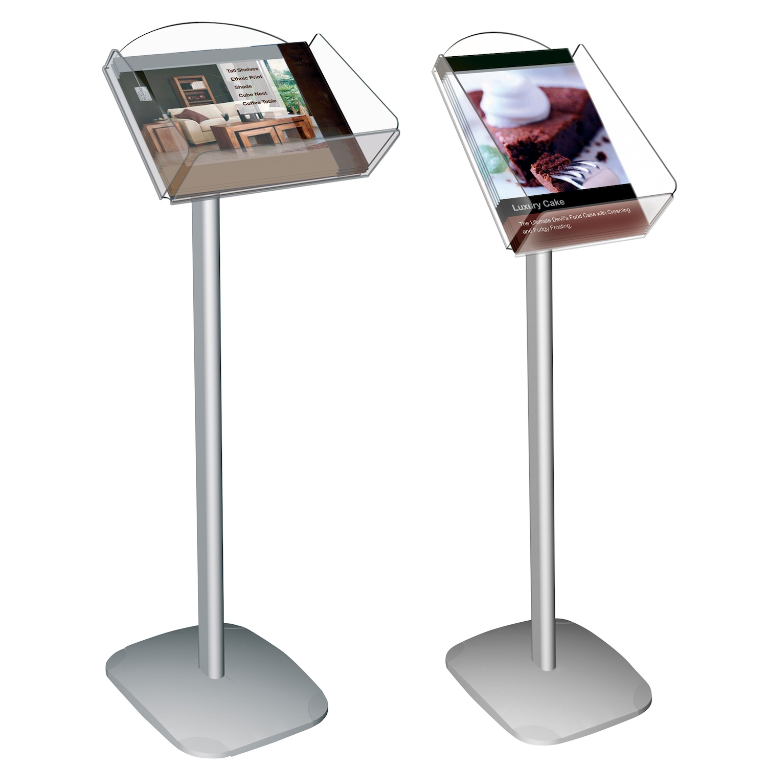 Decorative Brochure Stand