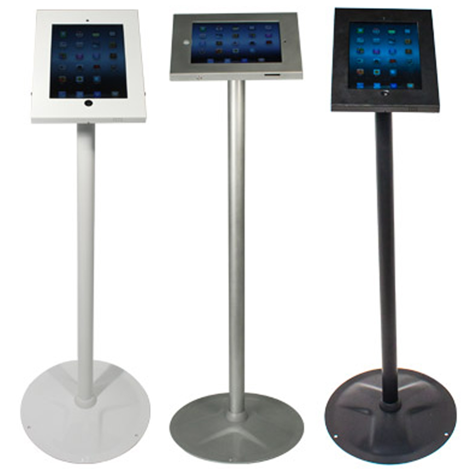 Freestanding iPad Holders