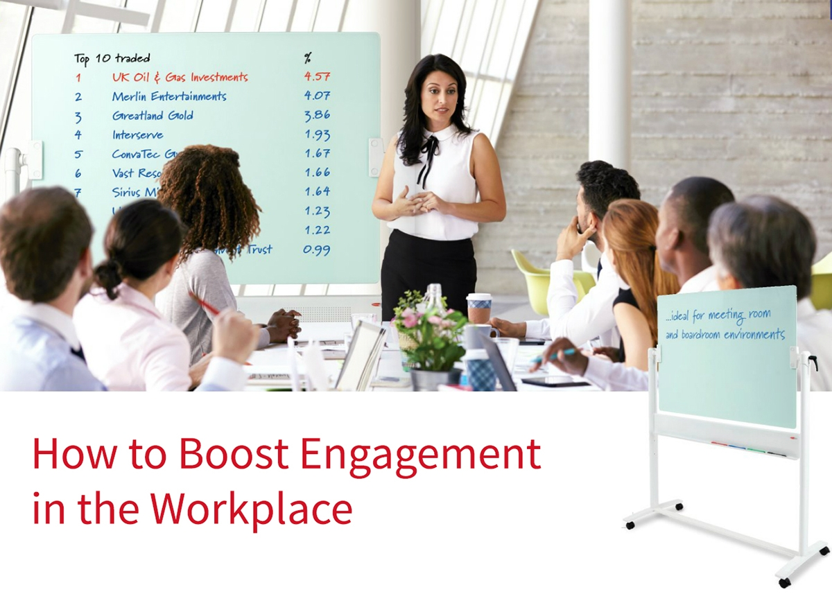 How to Boost Engagement in the Workplace