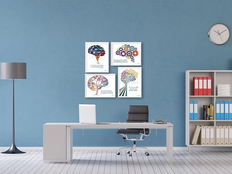 Office-poster-cases-on-wall