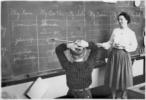 Old style chalkboard