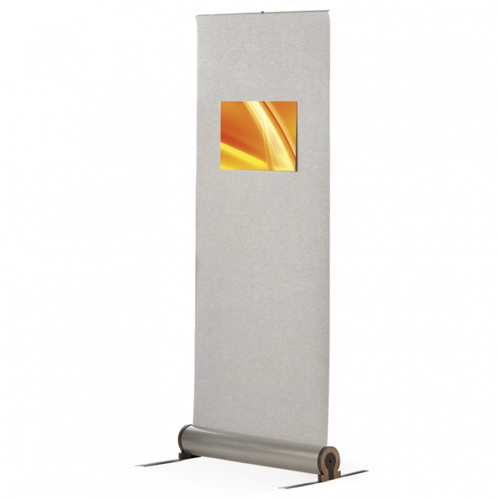 Omega Fabric Roller Banner Stand