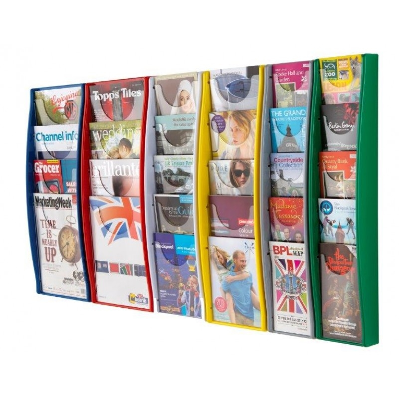 Panorama Wall Mounted Leaflet Holder