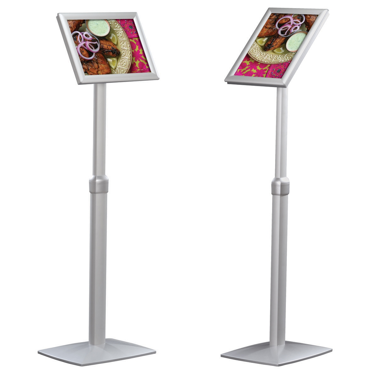 Telescopic Information Stands