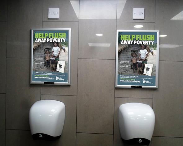 Toilet Snap Frames