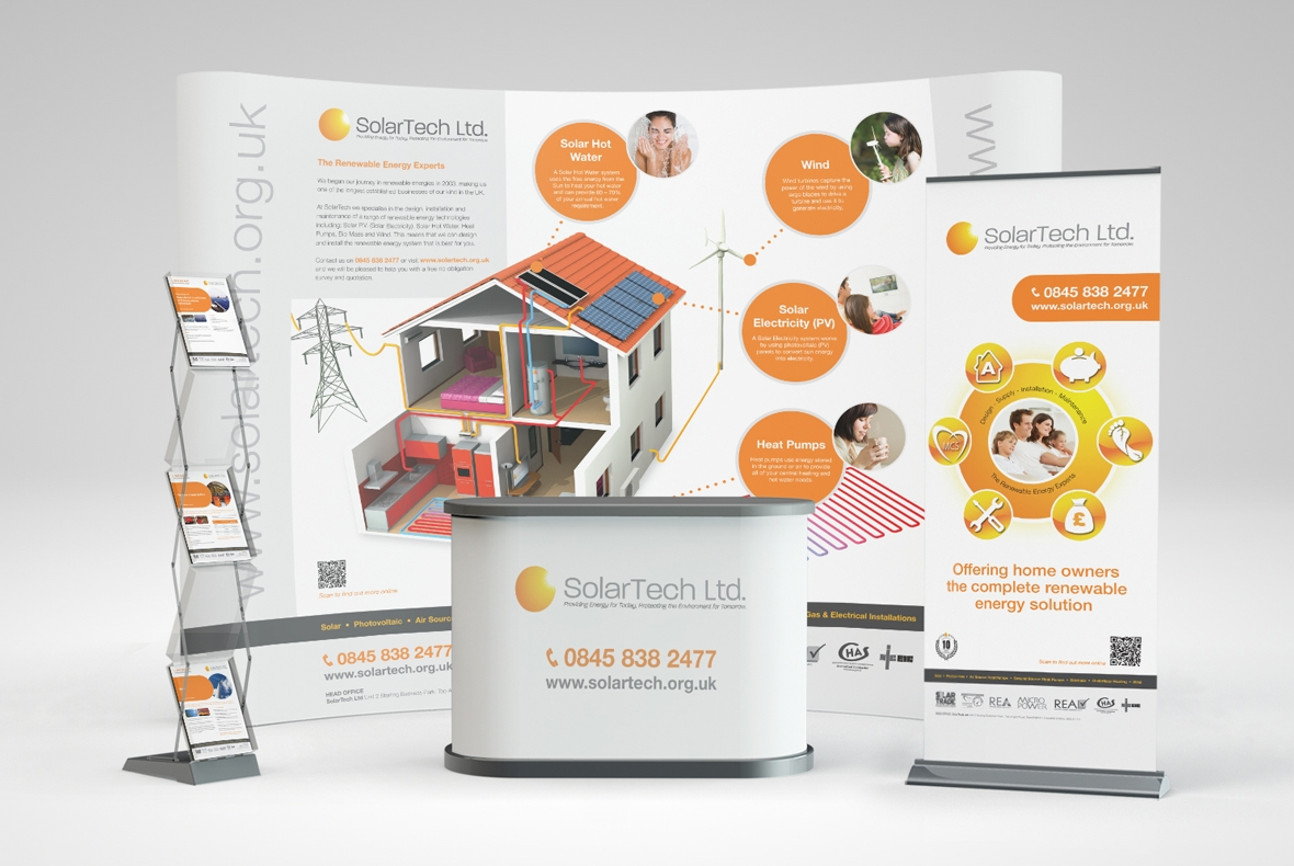 Solartech Exhibition Stand