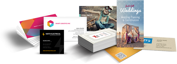 Business Cards and Leaflets