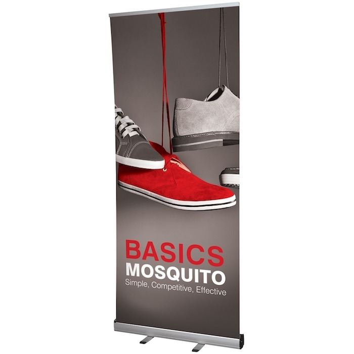 Mosquito Roller Banner Stand