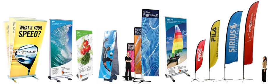Outdoor Banners and Flags