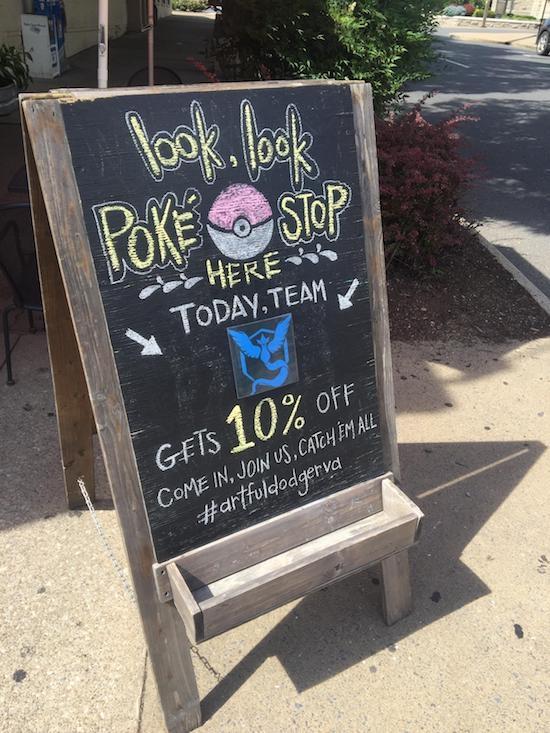 Pokemon Chalkboard Sign