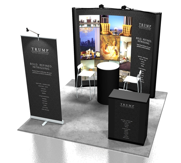 Pop-up Display Stands and Roller Banners