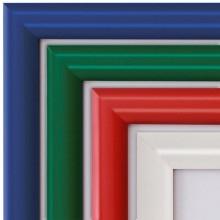 Coloured Snap Frames