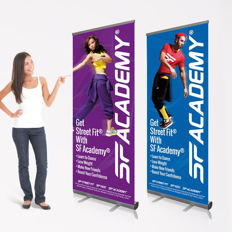 Branding Roller Banners with images