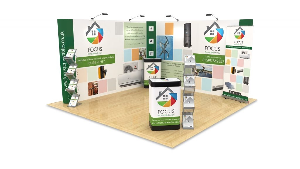 Pop-Up Display Stands for Exhibitions