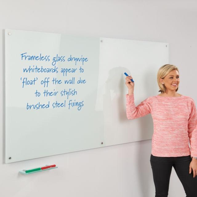 Frameless Glass Whiteboards
