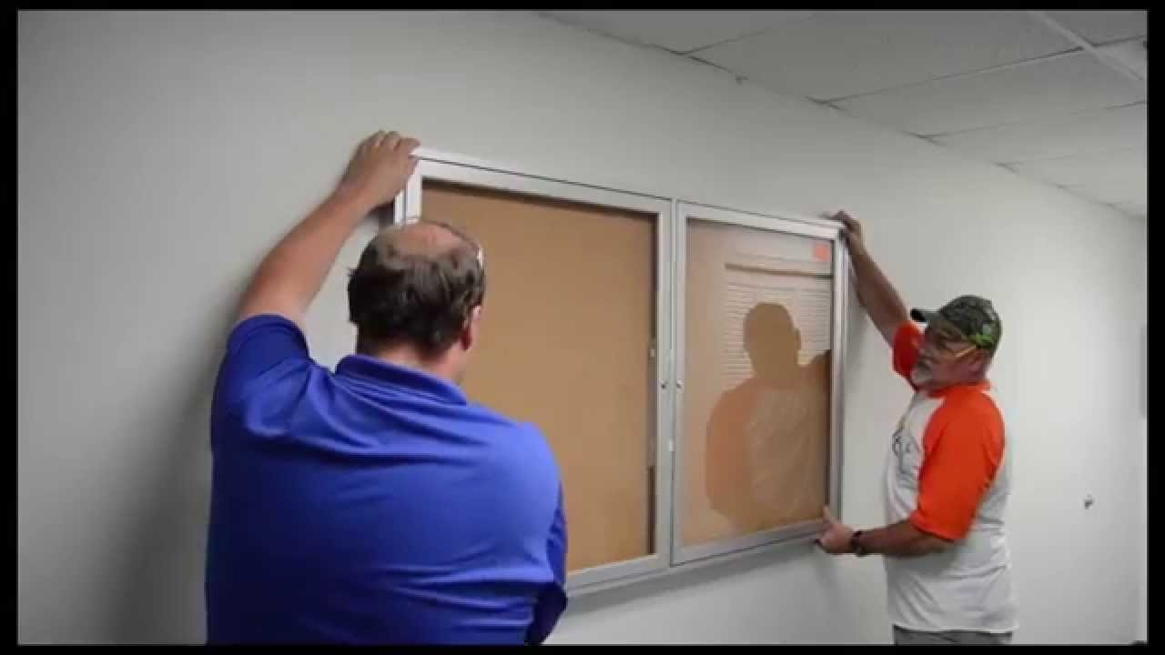 Installing Notice Boards and Whiteboards