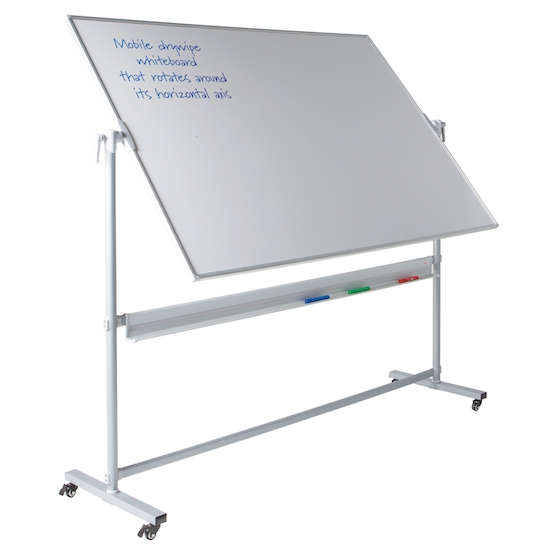 Mobile Whiteboards that Revolve
