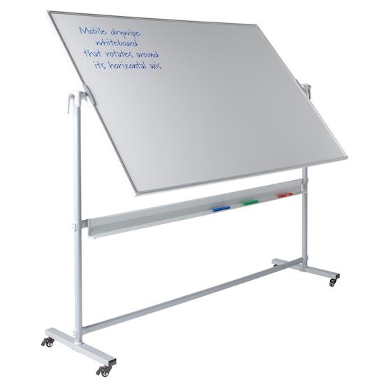 Mobile Whiteboards that Revolve