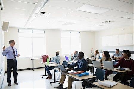 College Whiteboard Teacher Classroom