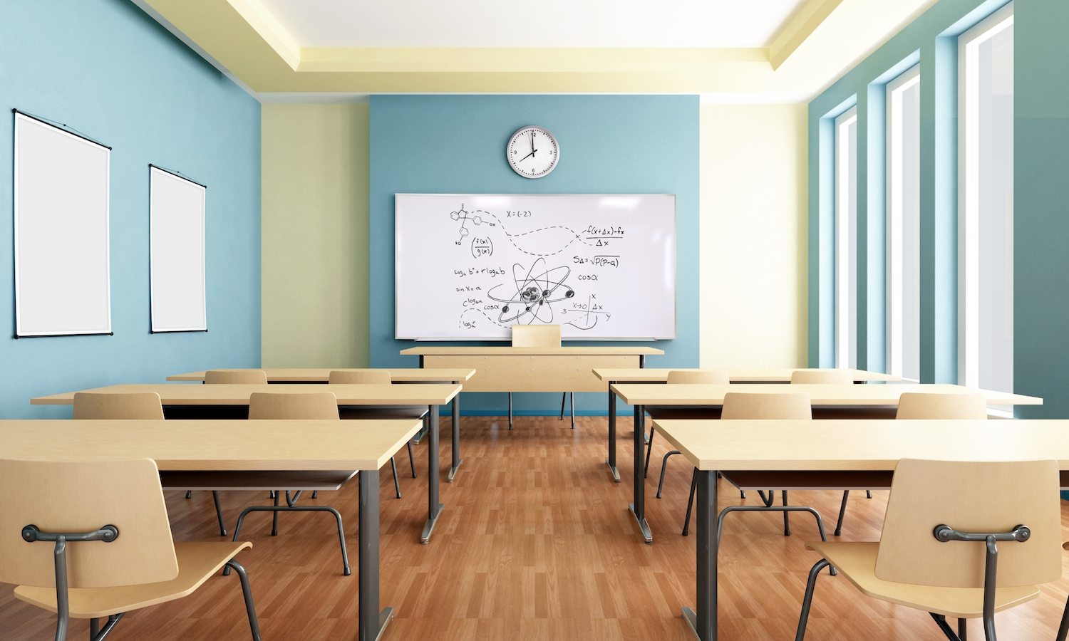 School Classroom Magnetic Whiteboards