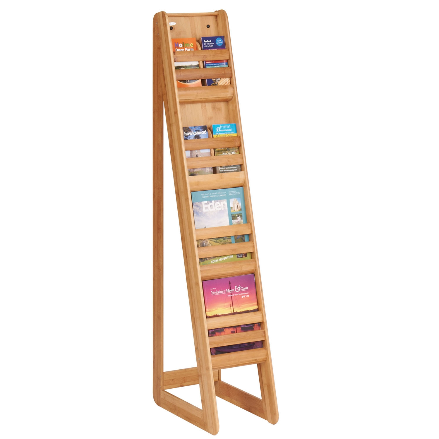 Bamboo Brochure Stand