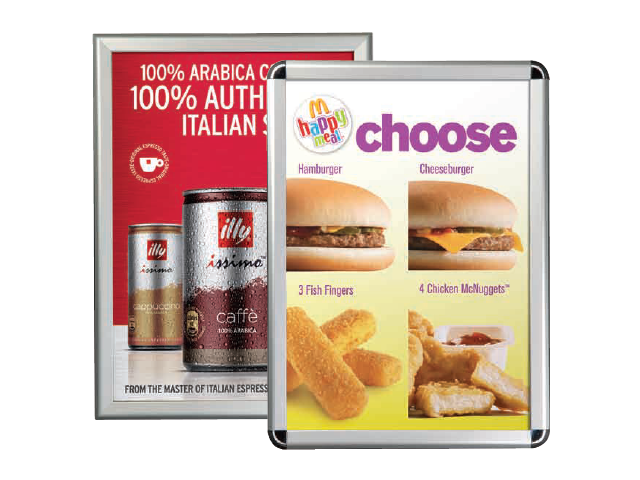 Silver Poster Frames