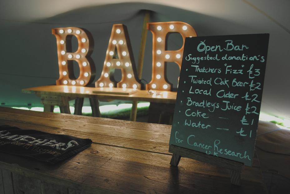 Bar Chalkboard